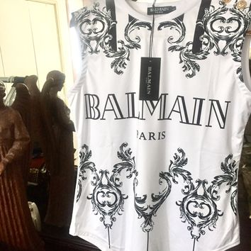 Balmain T Shirt 'Size Large' ( Stunning Victorian Design!!) Must See
