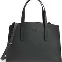 COACH Charlie Leather Tote | Nordstrom