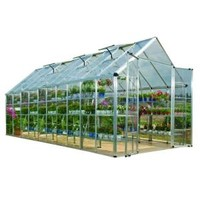 Palram, Snap and Grow 8 ft. 2 in. x 20 ft. 2 in. Polycarbonate Greenhouse, 701525 at The Home Depot - Mobile