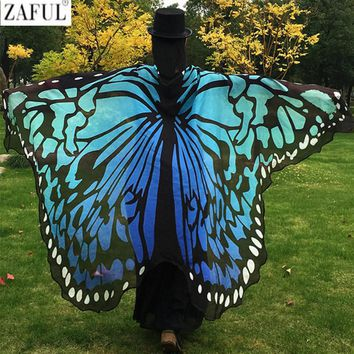 Butterfly Wing Cape Beach Cover Up