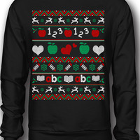 EXCLUSIVE Teachers Ugly Christmas Sweatshirt