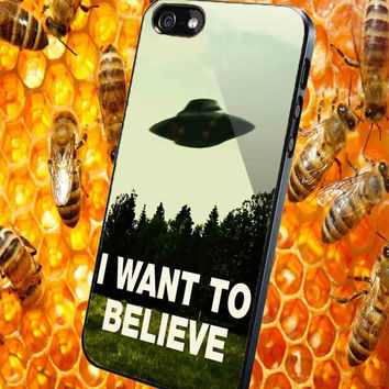 I want to believe light x-files  for iPhone 4/4S/5/5S/5C Case, Samsung Galaxy S3/S4/S5 Case, iPod Touch 4/5 Case