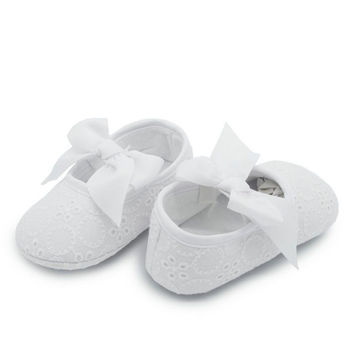 baby girl princess prewalker shoes pure white soft sole shoes infant leisure first walkers girl toddler shoes