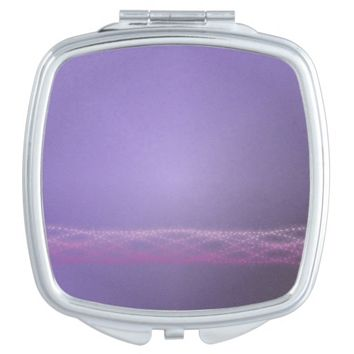 Purple Lights Makeup Mirror