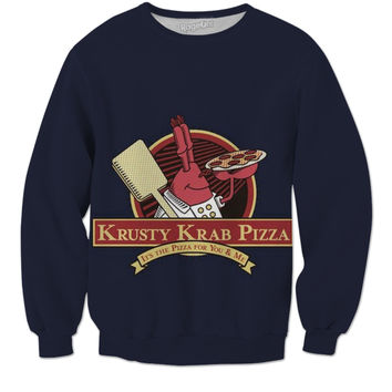 A Krusty Krab Pizza