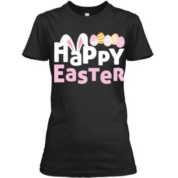Easter Bunny Shirt For Boys Kids Girls Happy Easter Egg Hunt Ladies Custom