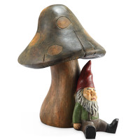 SPI Garden Collection Resting Gnome with BlueTooth Speaker