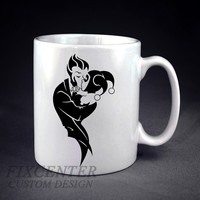 Harley Quinn and The Joker Personalized mug/cup