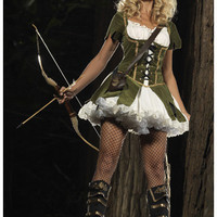 Lady Robin Hood Costume - Sexy Robin Hood Costumes for Women