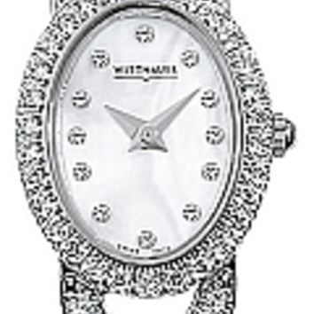 Wittnauer Krystal Collection Women's Bracelet Mother of Pearl Watch 10L12