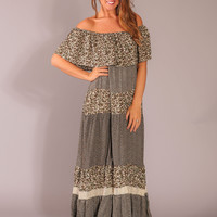 All About Boho Maxi Dress - Olive