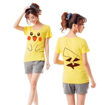 Pikachu Smiley Face - Pokémon T-Shirt