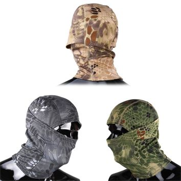 Protect Full Face Camouflage Face Mask Airsoft Paintball Gear Ski Cycling Mask Military Tactical Hunting