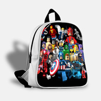 iOffer: Lego Super Heroes Backpack Travel Bags School Bag for sale