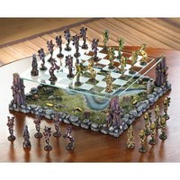 Fanciful Fairy Chess Set Home Decor