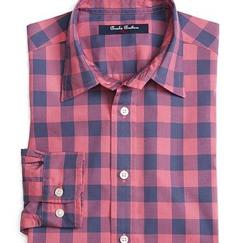 Large Check Sport Shirt - Brooks Brothers