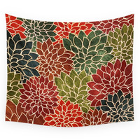 Society6 Floral Abstract 7 Wall Tapestry