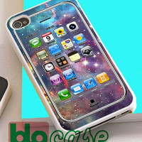 I Phone 4S On Galaxy For Iphone 4/4s, iPhone 5/5s, iPhone 5C, iphone 6, and iPhone 6 Plus Case
