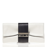 Nite Cap Clutch - Black and White