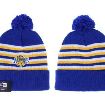 Los Angeles Lakers Beanies New Era NBA Hat