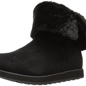 Skechers Women's Keepsakes-Big Button Slouch Mid Winter Boot
