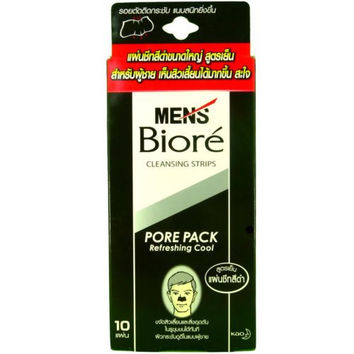Men's Biore Refreshing Cool Pore Pack Cleansing Nose Strips