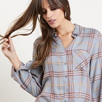 Plaid To Be Back Flannel Shirt