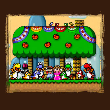 Super Mario World Happy Ending