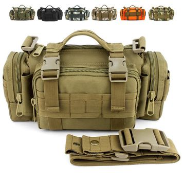 Army Military Tactical Packs Belt Bag Molle Camping Hiking Hunting Multi-function Bags