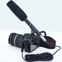 "New pro 14.37"" Camera Camcorder Shotgun Microphone MIC for Nikon Canon Interview"