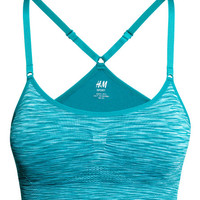Seamless Sports Bra - from H&M