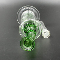 Glass Water Pocket Bong Bubbler 14mm Hookahs Small Bong Water Pipes Recycler Oil Rigs Mothership Glasses Ash Catcher Glass Bong Glass Rig