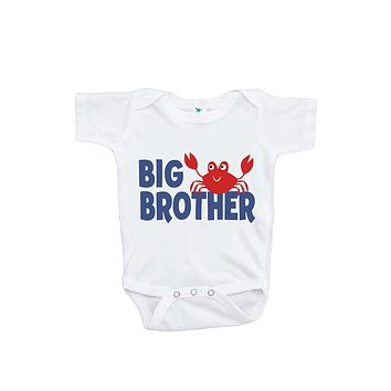 Custom Party Shop Baby Boy's Big Brother Summer Onepiece