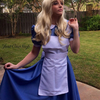 ALICE IN WONDERLAND Inspired Adult Dress Costume