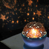 Rotation Star Sky Luminous Night Light Lamp