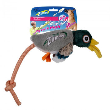 All for Paws Dog Toy Zinngers Flying Mallard