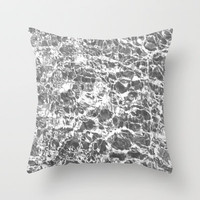 silent music Throw Pillow by Marianna Tankelevich