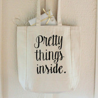 Pretty Things Inside Tote Bag & Perfect Any Occasion Gift Bag