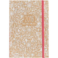 2015-2016 Floral Stitched Planner