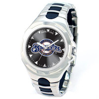 Milwaukee Brewers MLB Mens Victory Series Watch