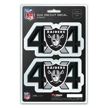Raiders 4x4 Decal Pack
