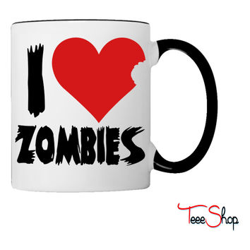 I Heart Zombies Coffee & Tea Mug