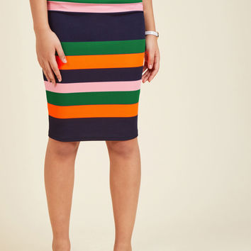 Foretold of Bold Pencil Skirt | Mod Retro Vintage Skirts | ModCloth.com