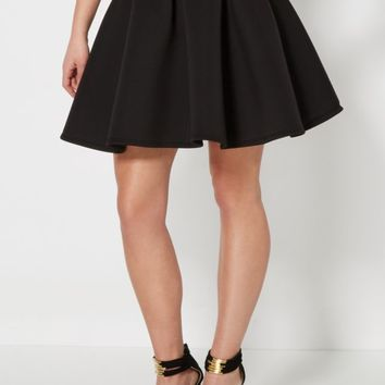 Double Scuba Knit Skater Skirt | Mini | rue21