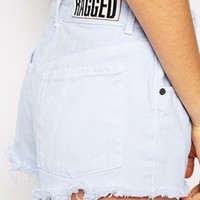 The Ragged Priest High Waisted Denim Short