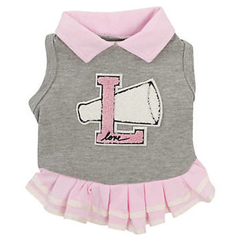 ED Ellen DeGeneres Cheerleader Dog Dress