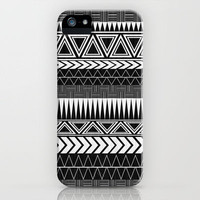 Tribal Monochrome. iPhone Case by Digi Treats 2  | Society6