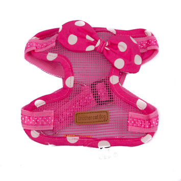 Pink Polka Dots Harness