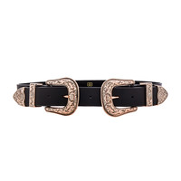 B-Low the Belt x REVOLVE Bri Bri Belt in Black & Rose Gold