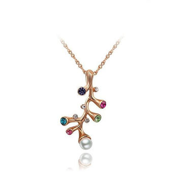 Gift New Arrival Stylish Shiny Jewelry Crystal Necklace [9281903812]